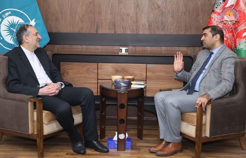 ملاقات تعارفی وزیر معارف با بهادر امینیان سفیر جدید ایران در افغانستان